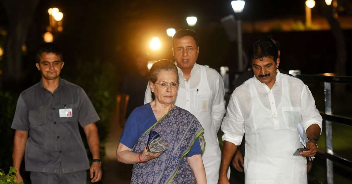 Congress should now adopt the agenda of a movement: Sonia Gandhi at party meeting