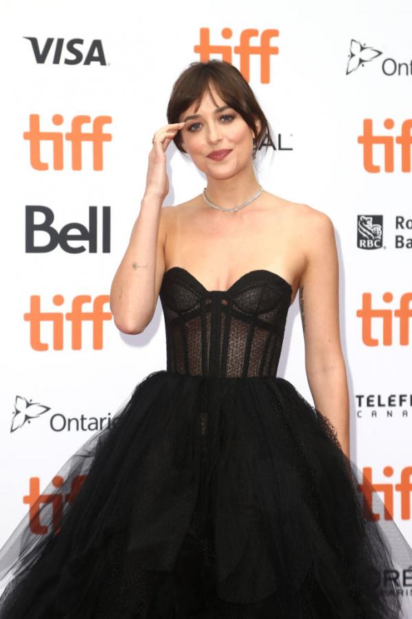 Hotness Alert! Dakota Johnson looking stunning in her ballgown at the Toronto International Film Festival premiere
