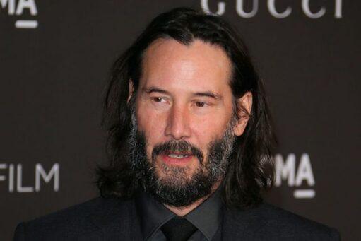 Actor Keanu Reeves