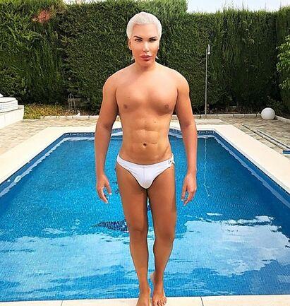 Brazilian reality television star Rodrigo Alves