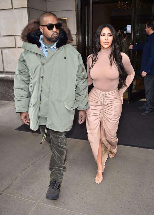 Kanye West puts