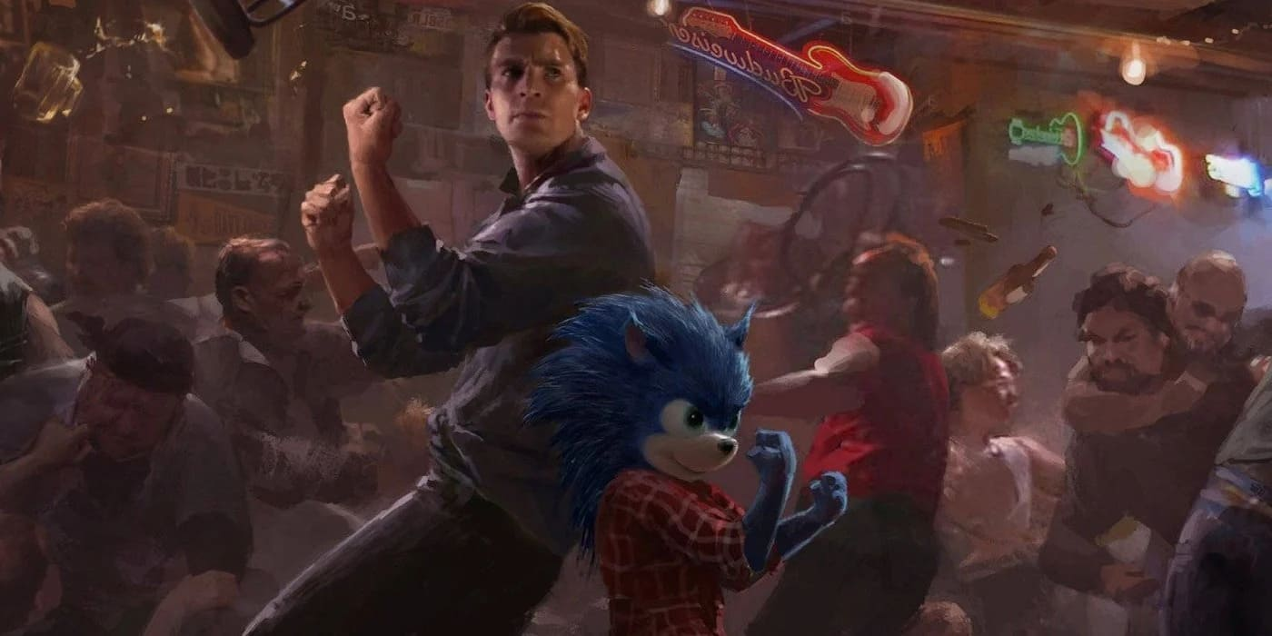 Sonic the Hedgehog in concept art