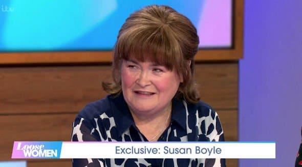 Susan Boyle signs