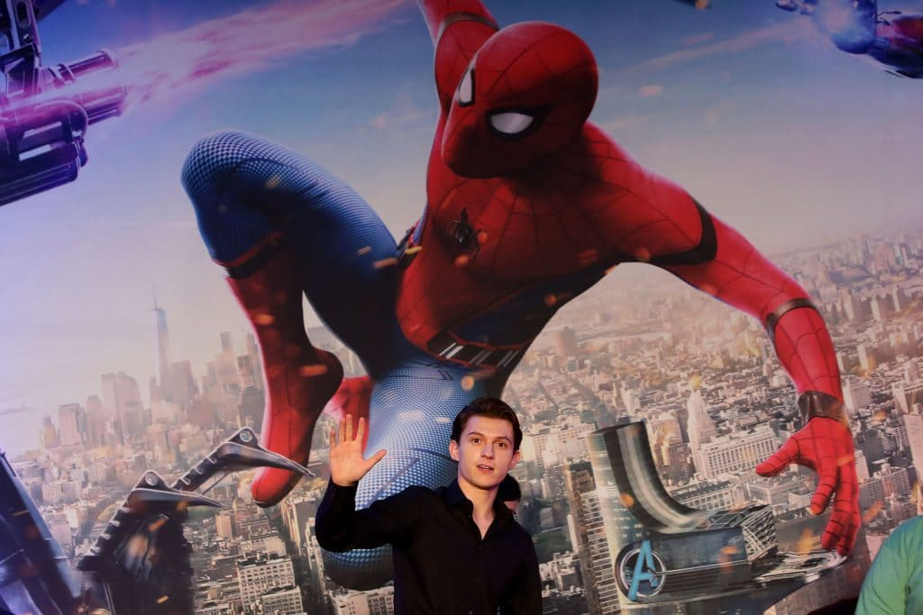 Tom Holland as Spiderman In MCU