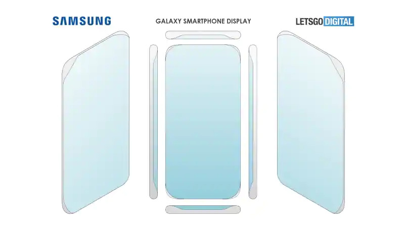 Samsung quad-curved display