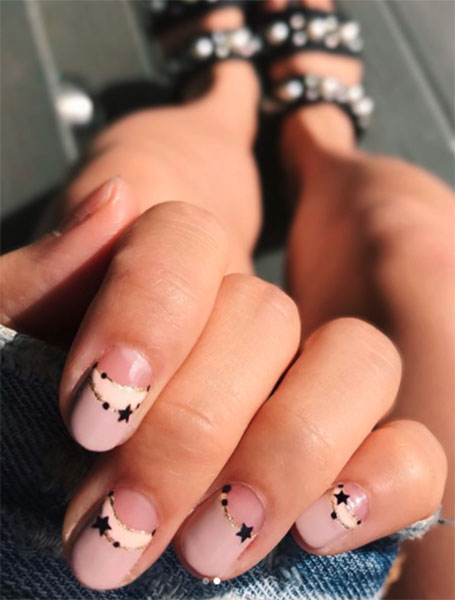 Crescent and Star Manicure