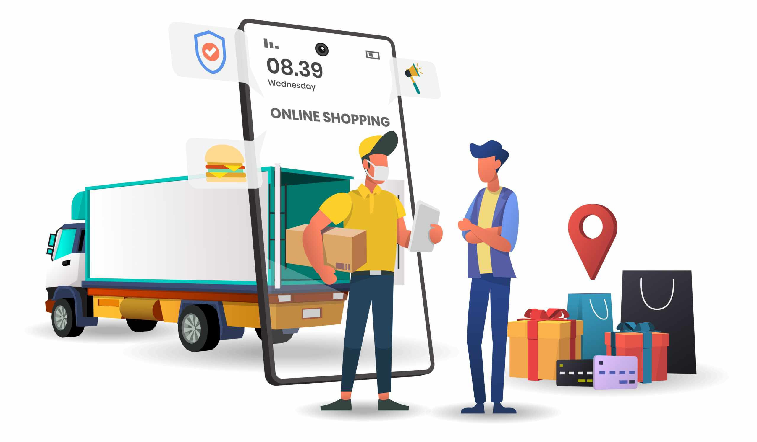 On-Demand Service Delivery App
